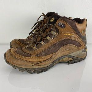 Merrell Continuum Vibram Waterproof hiking boots 8